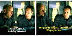 Flashpoint ~ Spike Scarlatti and Ed Lane...hahaha LOVE this show !