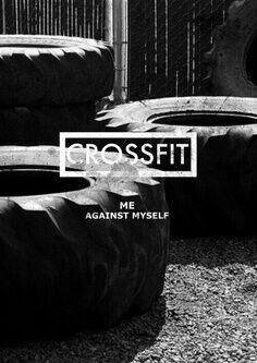 Me against myself #crossfit