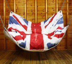 bean bag hammock union jack