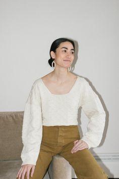 Rachel Comey Meter Top - Ivory