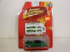 Johnny Lightning Muscle Cars 1972 Ford Torino Sport  (Die-cast-1:64 Scale) #JohnnyLightning #Ford