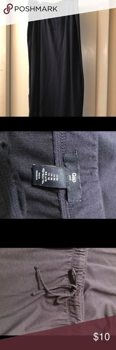 Gap Navy Blue cotton Maxi skirt Navy blue maxi skirt size medium GAP Skirts Maxi