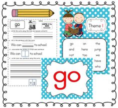 Sight word practice.  There is also a neat fact practice incentive to use with students.