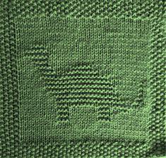 Free knitting pattern for dinosaur washcloth afghan square (brachiosaurus, bront. Free knitting pattern for dinosaur washcloth afghan square (brachiosaurus, brontosaurus, apatosaurus, longneck). Lots of. Knitted Squares Pattern, Knitted Dishcloth Patterns Free, Knitting Squares, Knitted Washcloths, Knit Dishcloth, Double Knitting, Knitting Patterns Free, Free Knitting, Crochet Patterns