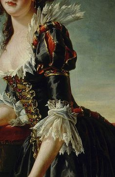 Traveling through history of Art...Madame Louise-Elisabeth with her two-year old Son, detail, by Adélaïde Labille-Guiard, 1787.