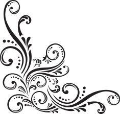 Fancy Scroll Design