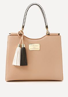 bebe Rope Handle Tote #bebe #pinyourwishlist