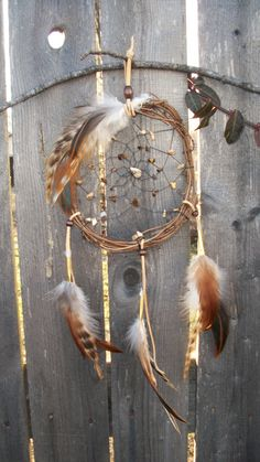 Dream catcher natural with Picture Jasper by 7WishesDreamcatchers, $45.00