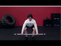 Clean (Squat) | Reebok CrossFit One