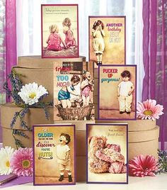 Put a smile on their face with a card from this 72-Pc. All-Occasion Greeting Card Set. Adorable images decorate the covers, while a sweet or humorous message wa