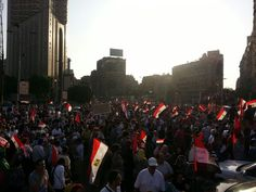 Galaa bridge Egypt june 30 /2013 definitely a revolution Egyptians, luv u all proud to be an Egyptian :)
