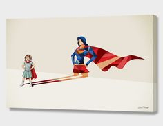 """""""Walking Shadow, Heroine"""", Numbered Edition Canvas Print by Jason Ratliff - From $89.00 - Curioos"""