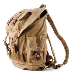 Rugged canvas travel rucksacks | Cool daypack mens · Vintage rugged canvas bags · Online Store Powered by Storenvy
