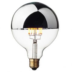 Silver Crown LED Edison Globe Bulb G125 E27 | Dimmable - Cablelovers