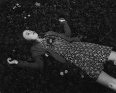 """Saatchi Art Artist: Virginia A Zuelsdorf; Gelatin 1975 Photography """"Joanne in Violets"""""""