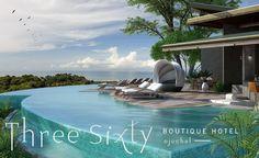 Three Sixty Boutique Hotel, luxury villas, Ojochal, Costa Rica
