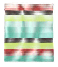Weegoamigo Frankie Stripe Knitted Blanket