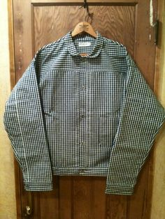 Heller's cafe One Pocket Checked Coat