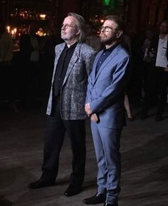 Benny Andersson and Björn Ulvaeus ABBA 05.06.2016