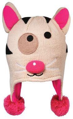 Sozo Baby-Girls Infant Kitty Knitted Hat:Amazon:Clothing