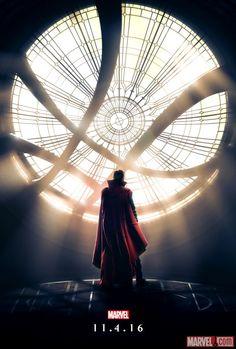 Check Out The Spellbinding First Poster For Marvel's DOCTOR STRANGE