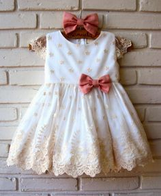 vestidos para aniversário de 1 ano com renda