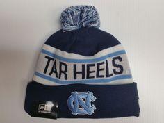 North Carolina UNC Tar Heels New Era Knit Hat Biggest Fan Beanie Stocking  Cap in Sports ac3fd1c86a4
