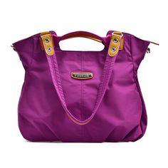 Women Nylon Lightweight Waterproof Tote Bags Outdoor Travel Shoulder Bags… febd394673b31