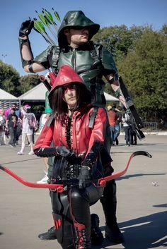 Green Arrow Red Arrow Cosplay#Arrow Cosplay#Arrow Costumes