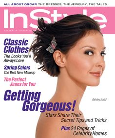 InStyle Magazine Covers: 2002 - April, Ashley Judd from #InStyle