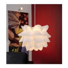 Ikea 600.713.44 Knappa Pendant Lamp, White - - Amazon.com