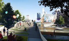 Bustler: 3XN to design entertainment complex for DreamCenter in Shanghai