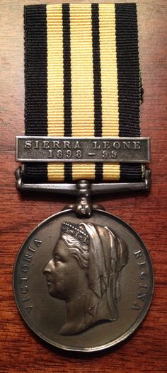 British East and West Africa medal PTE. W. Bennett 3/W.I.R