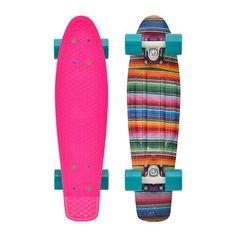 """Penny Skateboards USA Penny Baja 22"""" Original Plastic Skateboard"""