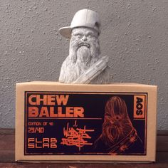 Chewballer by Angry Woebots x FLABSLAB