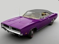 '69 Charger. Plum Crazy Purple. I have to get over my crush on Mopar. I will have this one day, even if I can't get one til I'm 80.