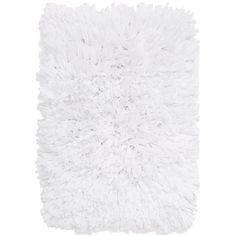 Nordstrom At Home Shag Bath Rug (2.845 RUB) ❤ liked on Polyvore featuring home, bed & bath, bath, bath rugs, fillers - white, filler, white, shag bath rugs, white bath rug and white bathroom rugs