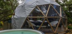 Location Bulle insolite à Soorts Hossegor pour deux avec jacuzzi - Introuvable Spa Privatif, Four Micro Onde, Jacuzzi, Location, Outdoor Gear, Tent, Places, Coffeemaker, Lugares