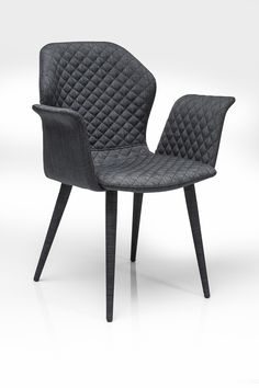 Krzesło Atlantis Dark Grey KARE design