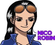 Nico Robin by SergiART on deviantART