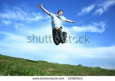 Jumping boy by bociek666, via Shutterstock