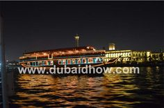 Dubai Dhow Cruise along with your family.