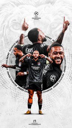 Soccer Art, Soccer Poster, Poster Boys, Sports Graphic Design, Graphic Design Posters, Graphic Design Inspiration, Sport Design, Depay Memphis, Soccer Inspiration