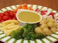 Fondue de Vegetais com Azeite Aromatizado