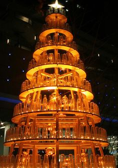 6. Tree of Bottles | 28 Unusually Cool And Clever Christmas Trees