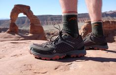 A guide to the best lightweight #hiking shoes for men and women, with top hiking shoes from La Sportiva, Vasque, Keen, Merrell and more. #Outdoors #Gear