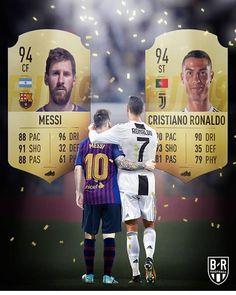 For the first time, Ronaldo and Messi have the same rating Neymar Vs, Messi Vs Ronaldo, Cristiano Ronaldo Juventus, Ronaldo Football, Soccer Memes, Football Memes, Fifa, Messi Videos, Cr7 Junior