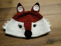 Een schattig vossenmutsje voor een jongetje.