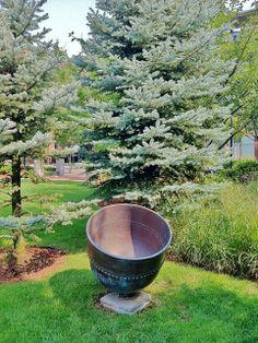 Sculpture by Ross Miller & Monica Raymond (1999) University Park, Cambridgeport #CambMA