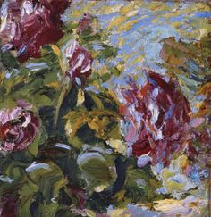 1906 Emile Nolde (German~Danish 1867~1956) | He was one of the first Expressionists, a member of Die Brücke.